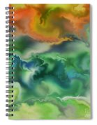 Movement Of The Natural World Spiral Notebook