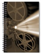 Movie Projector  Spiral Notebook