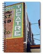 Movie Sign 1 Spiral Notebook