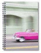 Moving Antique Spiral Notebook