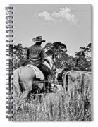 Moving Cattle Spiral Notebook