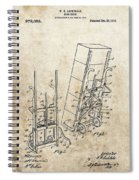 Moving Dolly Patent Spiral Notebook