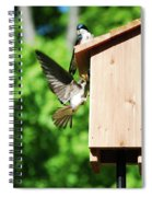 Moving In Spiral Notebook