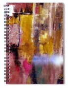 Moving Light Spiral Notebook