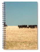 Moving The Herd Spiral Notebook