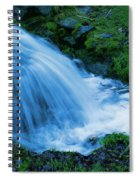 Moving Water Can Move Your Soul Spiral Notebook