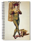 Mozart: Magic Flute, 1791 Spiral Notebook
