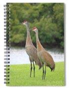 Mr And Mrs Crane Spiral Notebook