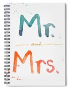 Mr And Mrs Spiral Notebook