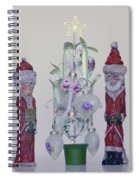Mr. And Mrs. Santa Claus Spiral Notebook