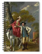 Mr And Mrs Thomas Coltman Spiral Notebook