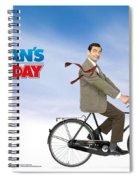 Mr. Bean Spiral Notebook