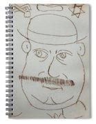 Mr Bloom - Red Spiral Notebook