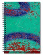 Mr Blue Jangles Spiral Notebook