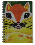 Mr Chipmunk Spiral Notebook