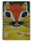Mr Chipmunk Spiral Notebook