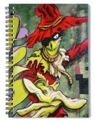 Mr. Graffiti Spiral Notebook