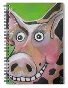 Mr Pig Spiral Notebook