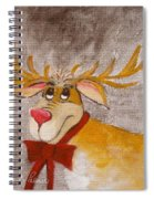 Mr Reindeer Spiral Notebook