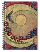 Mr Twardowski On The Moon Spiral Notebook