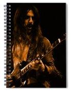 Mrmt #70 Enhanced In Amber Spiral Notebook