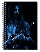 Mrmt #70 Enhanced In Blue Spiral Notebook