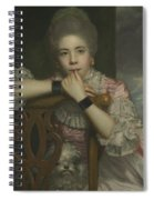 Mrs Abington As Miss Prue In Love For Love By William Congreve Spiral Notebook