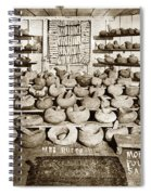 Mrs. Butts Mortar And Pestle Collection Found In San Benito Co. Spiral Notebook