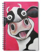 Mrs Cow Spiral Notebook