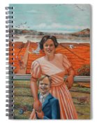Mrs. Curry And Son Spiral Notebook