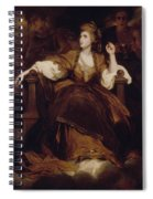 Mrs Siddons As The Tragic Muse Spiral Notebook