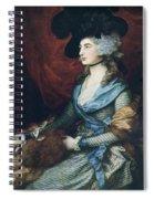 Mrs Siddons. British Actress Sarah Spiral Notebook