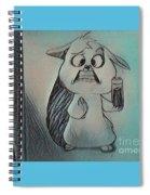 Mrs Spiral Notebook
