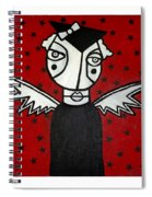 Mrs.creepy Spiral Notebook