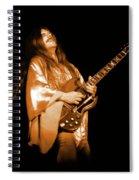 Mrsea #42 Enhanced In Amber Spiral Notebook