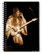 Mrsea #48 Enhanced In Amber Spiral Notebook