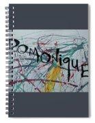 ms D Spiral Notebook