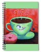 Ms Tea Spiral Notebook