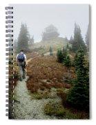 Mt Brown Lookout - Glacier National Park Spiral Notebook