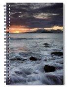 Mt. Edgecumbe Sunset Spiral Notebook