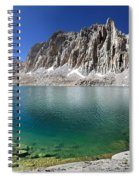Mt Hitchcock Over Lower Hitchcock Lake 2 - Sierra Spiral Notebook