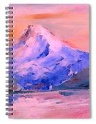 Mt Hood 04 Spiral Notebook