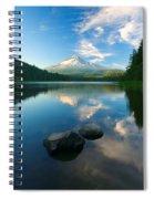 Mt. Hood Cirrus Explosion Spiral Notebook