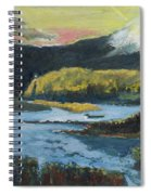 Mt Hood Dazzle Spiral Notebook
