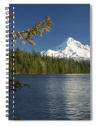 Mt Hood From Lost Lake Spiral Notebook