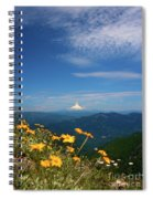 Mt. Hood In The Distance Spiral Notebook