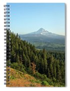 Mt Hood In The Distance Spiral Notebook