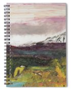 Mt Hood Mirage Spiral Notebook