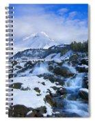 Mt. Hood Morning Spiral Notebook