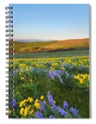 Mt. Hood Wildflower Morning Spiral Notebook